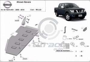 Scut rezervor Nissan Navara D40