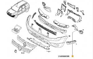 Convergent stanga Dacia Duster