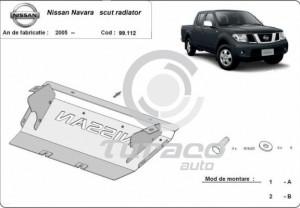 Scut metalic radiator Nissan Navara