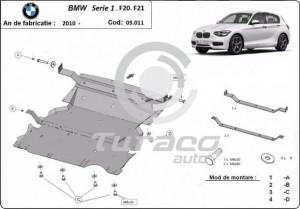 Scut motor metalic BMW Seria 1 F20/F21