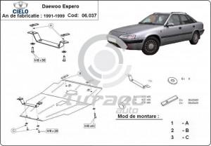 Scut motor metalic Daewoo Espero