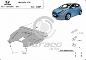 Scut motor metalic Hyundai ix20