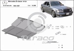 Scut motor metalic Mercedes E-Class W124