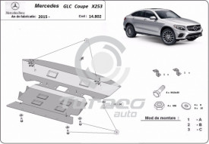 Scut motor metalic Mercedes GLC Coupe X253