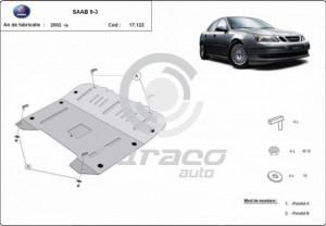 Scut motor metalic Saab 9-3