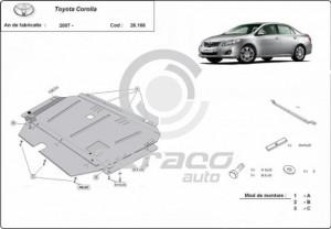 Scut motor metalic Toyota Corolla