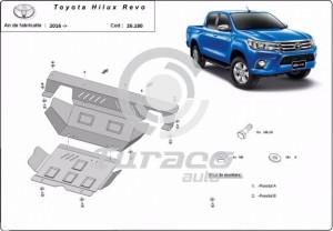 Scut motor metalic Toyota Hilux Revo