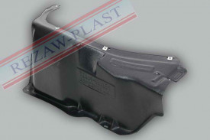 Scut plastic motor stanga Seat Toledo II
