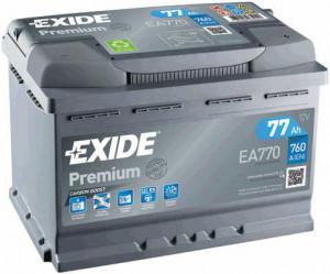 Baterie auto EXIDE PREMIUM 77 Ah