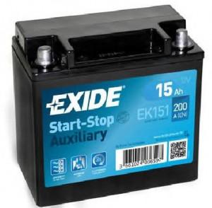 Baterie auto secundara AGM 15Ah