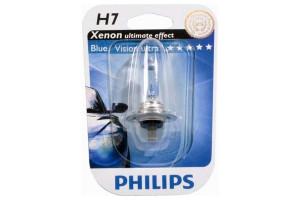 Bec H7 12V 55W PX26d BLUE VISION ULTRA (BLISTER)