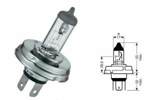 Bec R2 halogen 12V 45/40W P45t