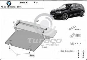 Scut motor metalic BMW Seria 3 E46