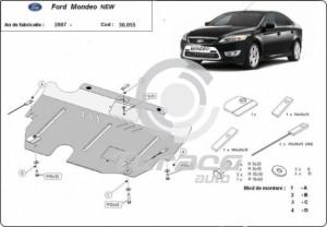 Scut motor metalic Ford Mondeo IV