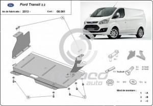 Scut motor metalic Ford Transit Custom
