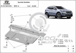 Scut motor metalic Hyundai Santa Fe