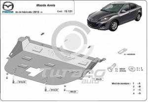 Scut motor metalic Mazda Axela