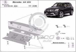 Scut motor metalic Mercedes GLK X253