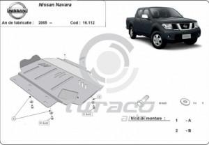 Scut motor metalic Nissan Navara