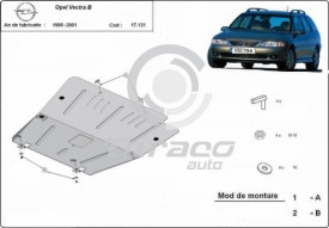 Scut motor metalic Opel Vectra B