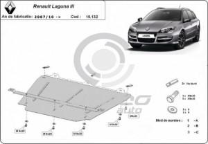 Scut motor metalic Renault Laguna 3