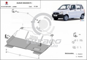 Scut motor metalic Suzuki Wagon R+