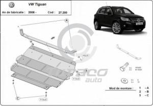 Scut motor metalic Volkswagen Tiguan