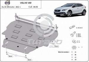 Scut motor metalic Volvo V40