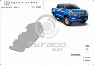 Scut rezervor Toyota Hilux Revo