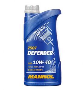 Ulei motor Mannol Defender Stahlsynt 10W40 1L