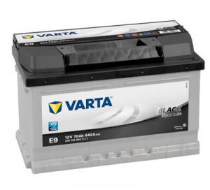 Baterie auto VARTA BLACK DYNAMIC 70 Ah