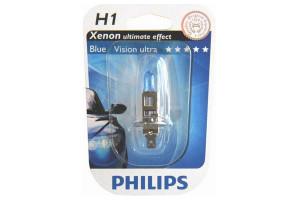 Bec H1 12V 55W P14,5s BLUE VISION ULTRA (BLISTER)