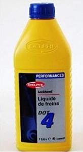 Lichid de frana Delphi DOT 4 1L