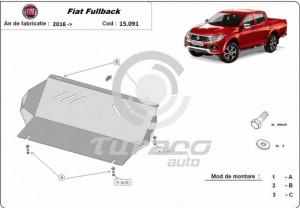 Scut metalic radiator Fiat Fullback