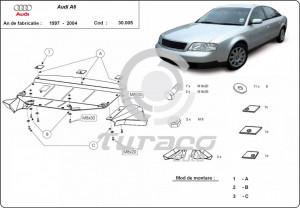 Scut motor metalic Audi A6 (C5)