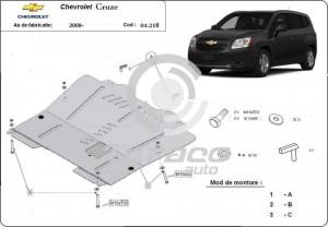 Scut motor metalic Chevrolet Orlando