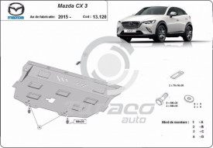 Scut motor metalic Mazda CX3