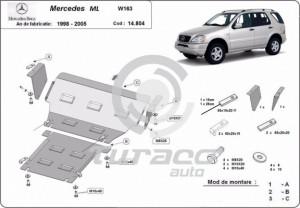 Scut motor metalic Mercedes ML W163