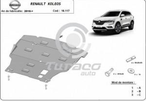 Scut motor metalic Renault Koleos