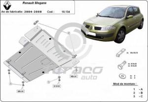 Scut motor metalic Renault Megane