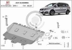 Scut motor metalic Seat Alhambra