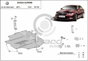 Scut motor metalic Skoda Superb II