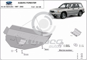 Scut motor metalic Subaru Forester