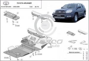 Scut motor metalic Toyota 4Runner