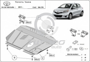 Scut motor metalic Toyota Yaris