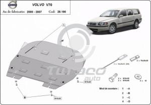 Scut motor metalic Volvo V70