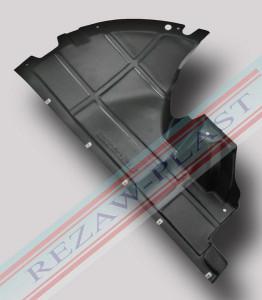 Scut plastic motor dreapta Peugeot Boxer