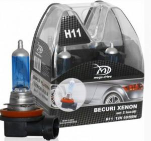 Set 2 becuri H11 12V 55W XENON