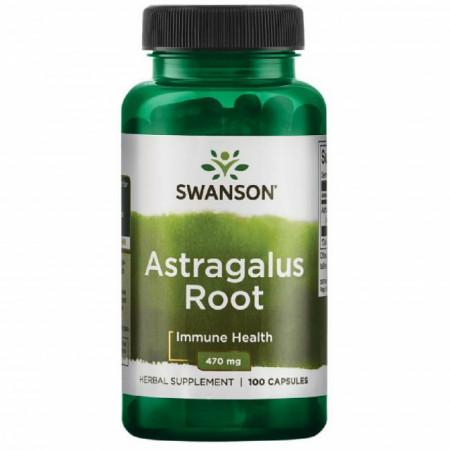 Poze Astragalus Root - Radacina de Astragalus Adaptogen Forte 470 mg Swanson Prospect Beneficii Pret