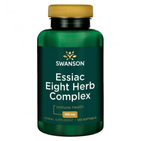 Poze Essiac Eight Herb Complex Avansat Intareste Sistemul Imunitar 120 capsule Swanson